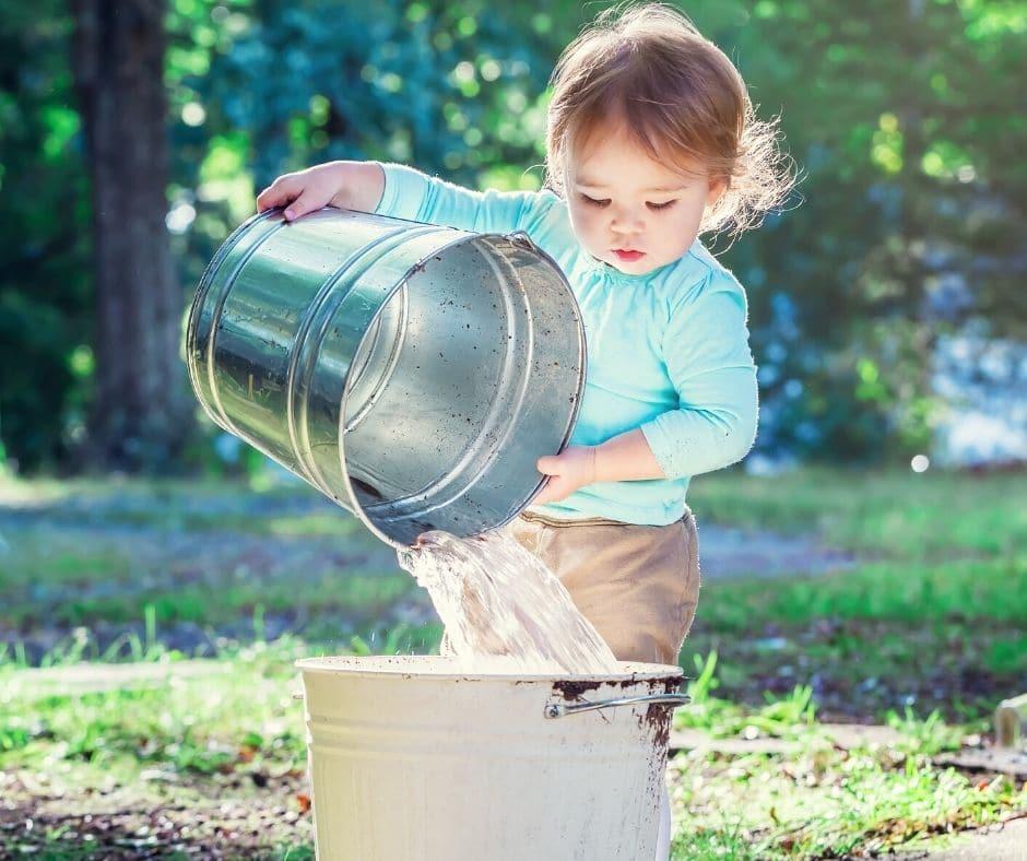 Summer Nature Bucket