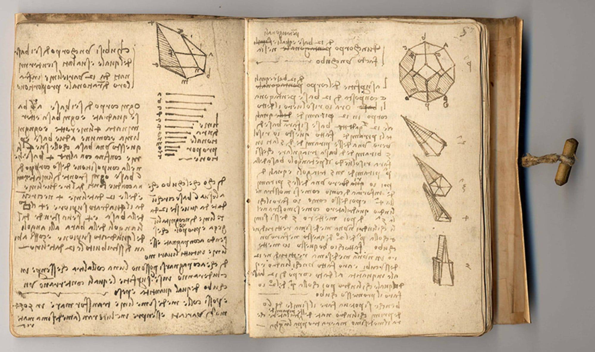 Codex Forster II , Leonardo da Vinci
